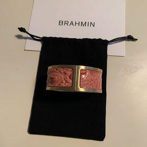 Brahmin Costume Jewelry Cuff Pink 🌸 7 inches